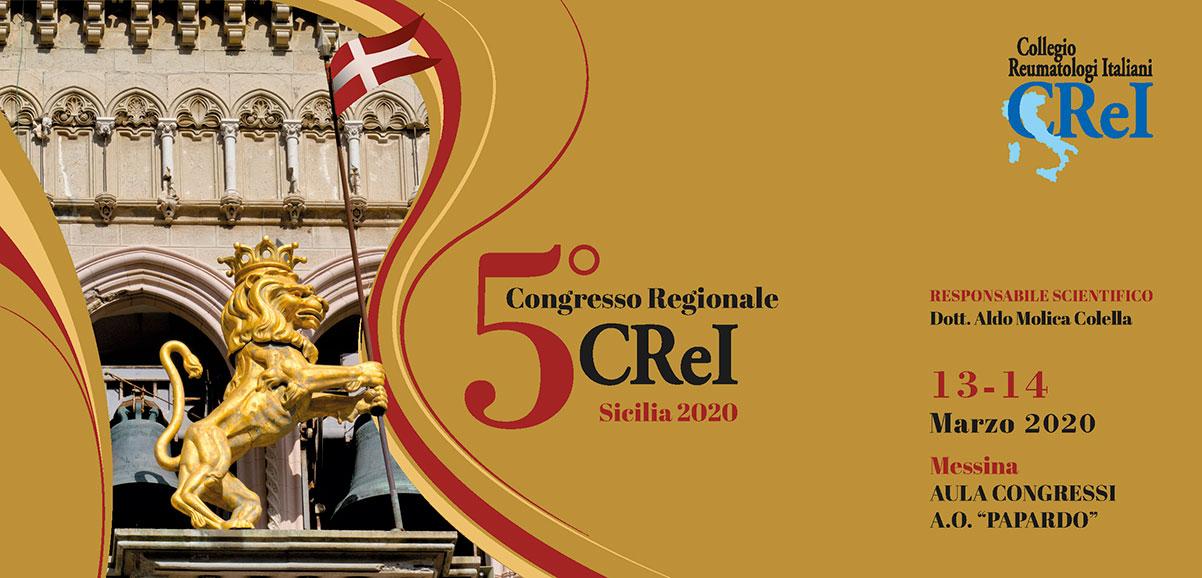5° Congresso Regionale CReI - Sicilia 2020